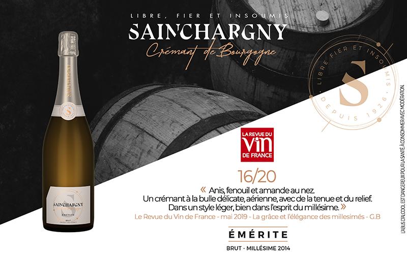 Émérite décroche un 16/20 dans La Revue du Vin de France