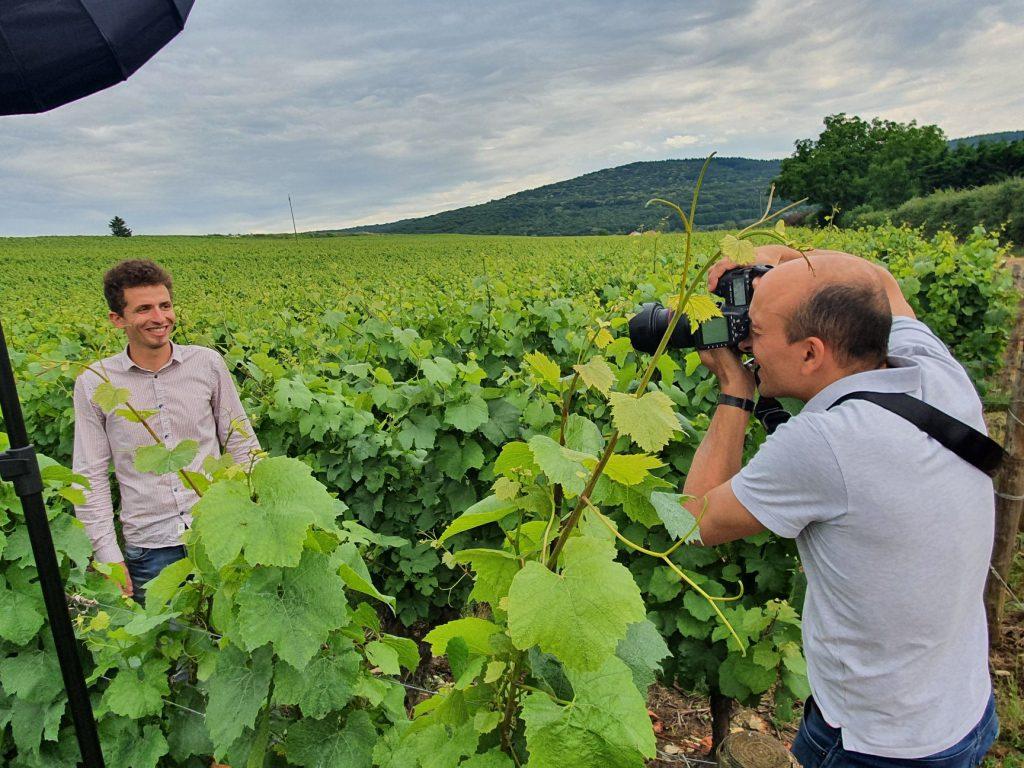 Nos jeunes vignerons créent la collection Un Homme un Vin