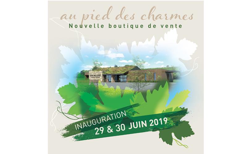 Inauguration de la boutique au pied des Charmes - 29 & 30 juin 2019