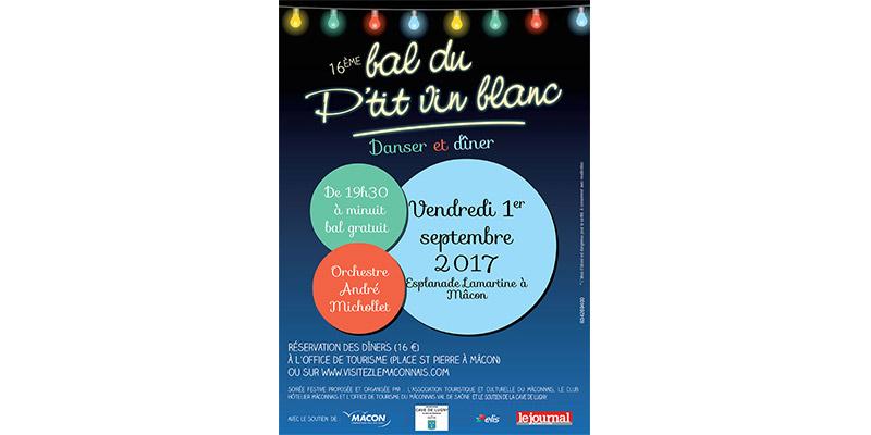 16ème Bal du P'tit vin blanc - 1er Septembre 2017
