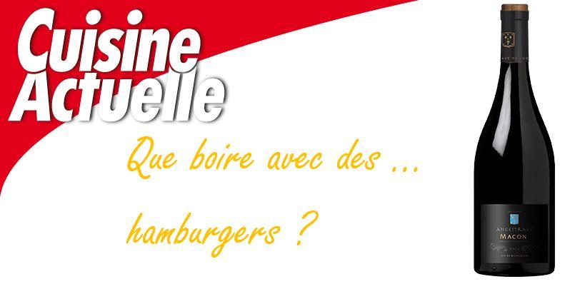 Des hamburgers pour tous les vins !