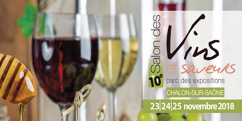 10e Salon des Vins et Saveurs - 23 au 25 novembre 2018